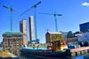 Dublin Boland Quay construction