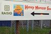 Honey Monster sign