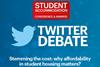 Studen accom twitter debate small