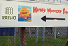 Honey Monster sign