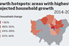 Growth hotspots map