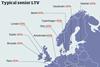 LTV map CBRE