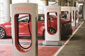 Tesla charging points, Bluewater