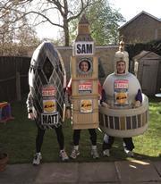 Three idiots ready to go - Sam Sananes