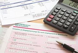 Tax self assessment
