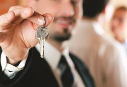 Man with keys