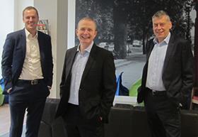 Nick Scott, Damian Cox and Mark Bellinger