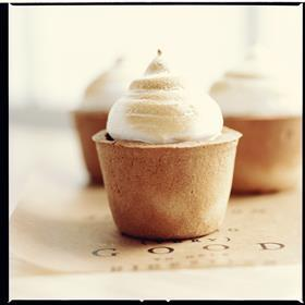 coconut cream pies (close up)