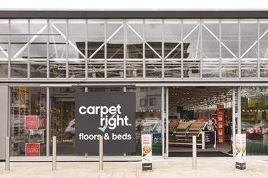 Carpetright retail park