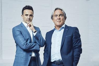Avant Homes' new chief operating officer Mark Mitchell and chief executive Colin Lewis