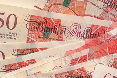 Money £50 notes