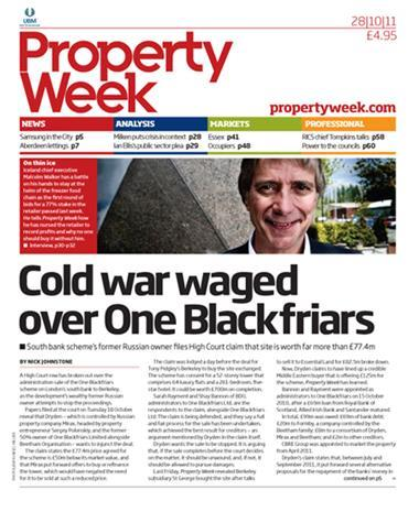 Property Week 28 October 2011