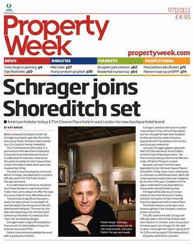 Property Week 7 October 2011