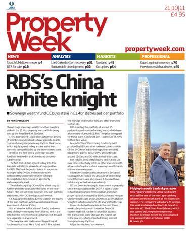 Property Week 21 October 2011