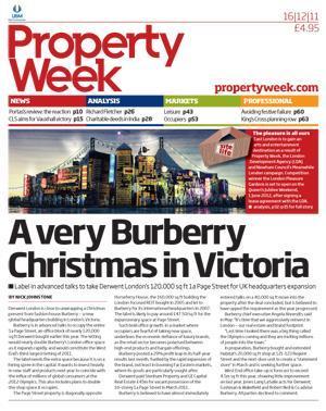 Property Week 16 December 2011