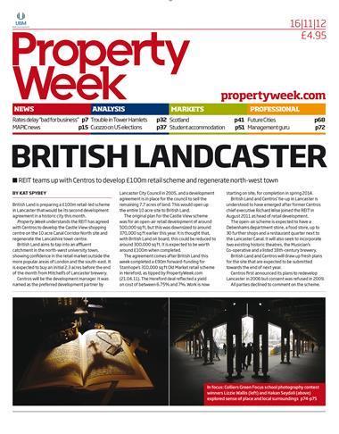 Property Week 16 November 2012