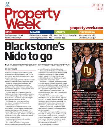 Property Week 4 November 2011