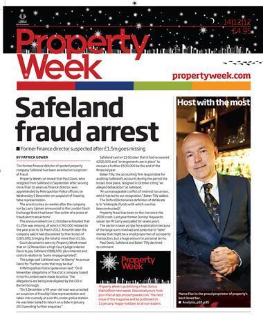 Property Week 14 December 2012