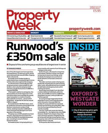 Property Week 10 November 2017