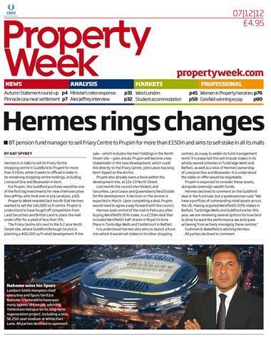 Property Week 7 December 2012