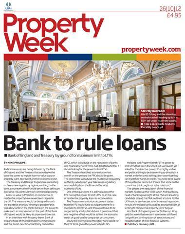 Property Week 26 October 2012