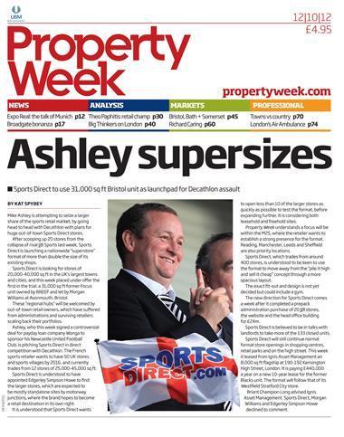 Property Week 12 October 2012