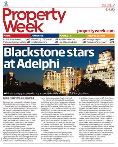 Property Week 19 October 2012