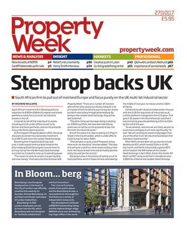 Property Week 27 October 2017