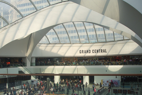 Grand Central shopping centre in Birmingham