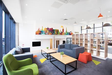 Unite student accommodation in Edinburgh