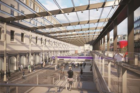 Paddington Elizabeth Line Station