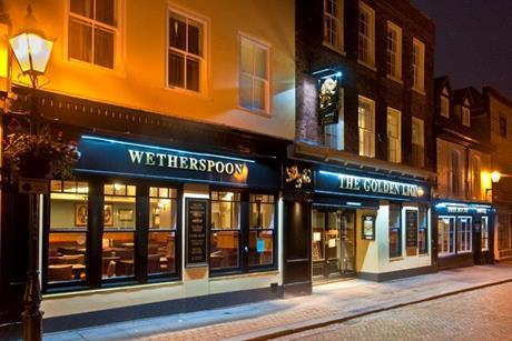 Wetherspoons Golden Lion Rochester