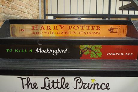 'To Kill a Mockingbird' book title stairs