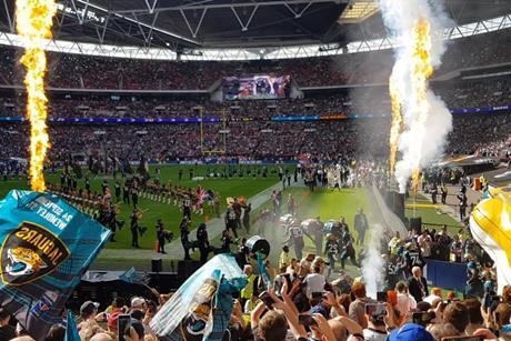 Wembley Stadium Jaguars