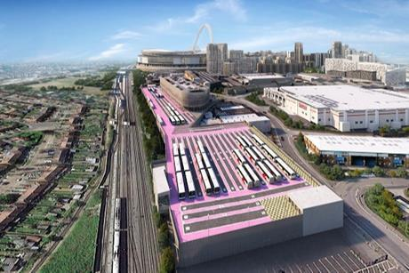 Wembley Park Car Park_Render