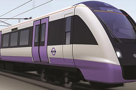 Crossrail (Elizabeth line) train