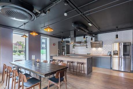 Quintain samsung tipi social kitchen