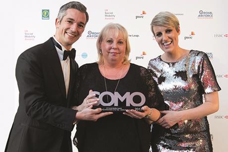 Debbie Akehurst, Social Mobility Awards