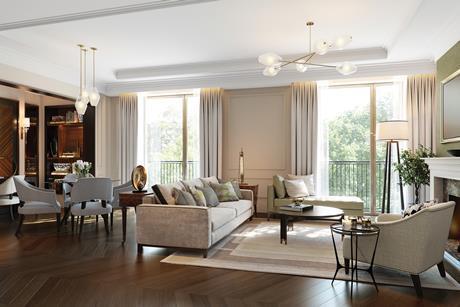 Auriens retirement home, Chelsea, London