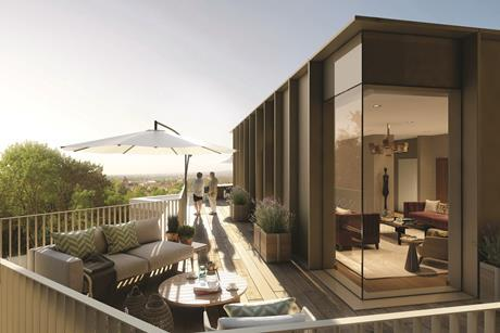 Hampstead Elysian Residences Penthouse Terrace