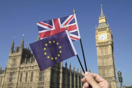 Brexit_flags Westminster shutterstock_436024603_cred lazyllama PW240818