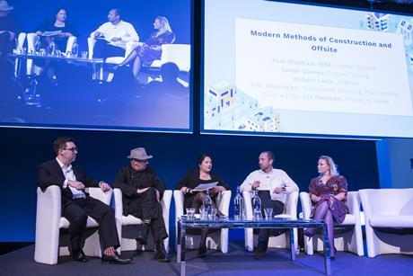 RESI conference 2018 modern methods of construction panel