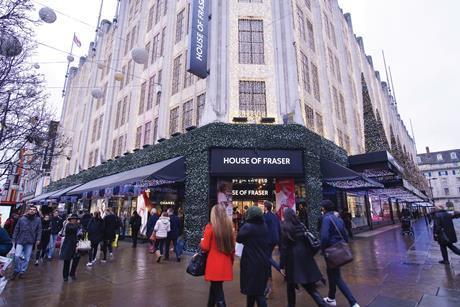 House of Fraser, Oxford Street