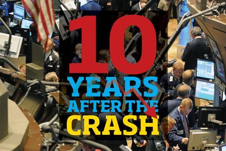 Lehman Brothers 10 years after the crash index