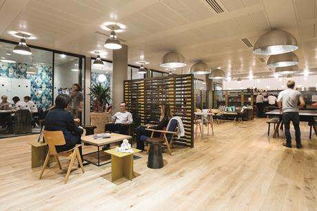 WeWork Moorgate London