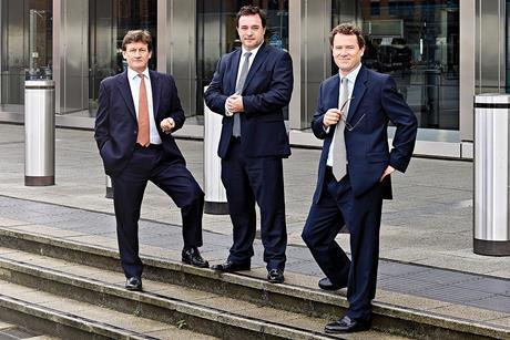 McKay Securities (left to right): Simon Perkins, Giles Salmon and Tom Elliott
