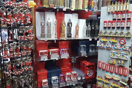London souvenir shop