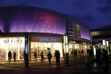 Palace Gardens Shopping Centre, Enfield, Greater London