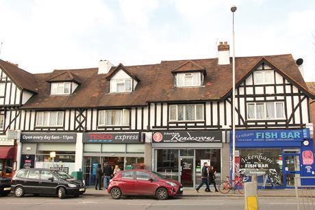 High street, Ickenham, Middlesex