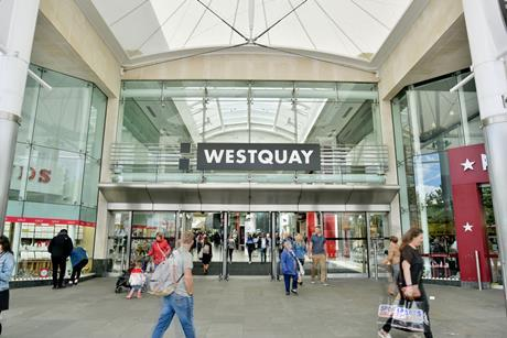 Hammerson's Westquay in Southampton